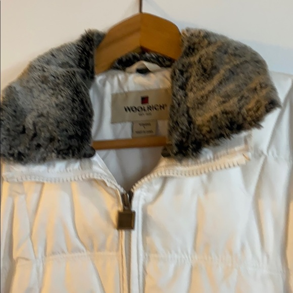 Winter white parka  by wool rich